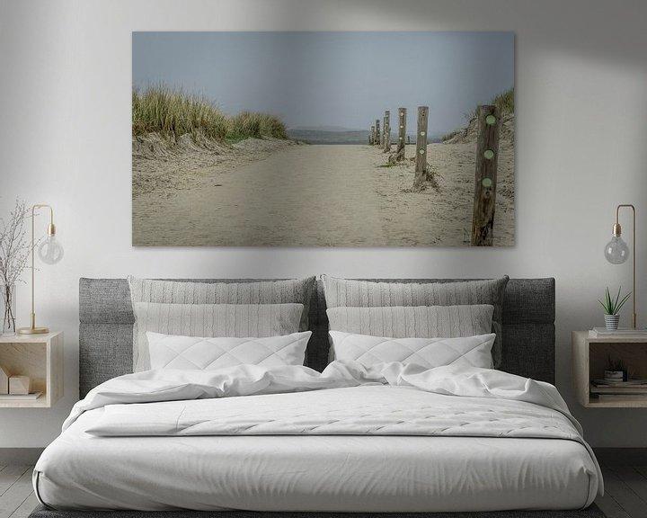 Sfeerimpressie: strand uitgang van Andre Klooster