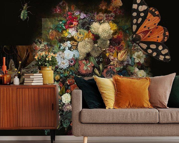 Sfeerimpressie behang: Life is wonderful van Nop Briex