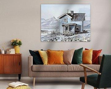 De la maison au lac sur Lineke Lijn