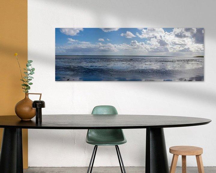 Sfeerimpressie: Avond bij de Waddenzee van Marcel Pietersen