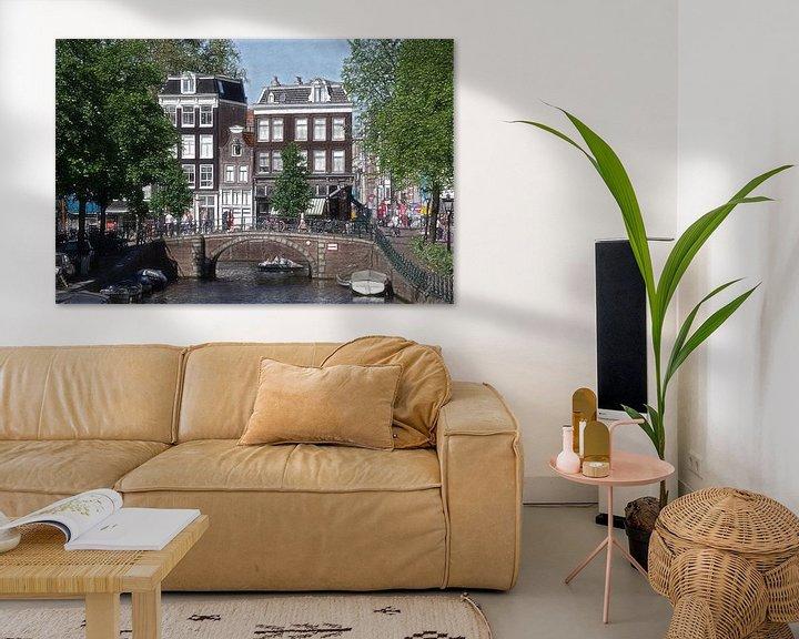 Sfeerimpressie: Amsterdam sketch-oto van Mike Bing