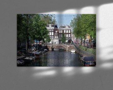Photo d'un croquis d'Amsterdam