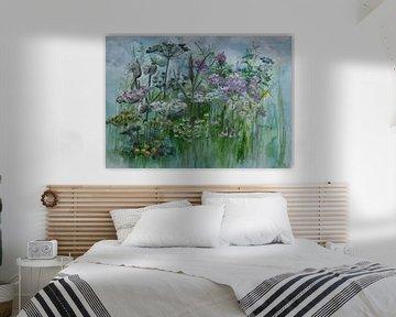Wilde Blumen von Yolanda Bruggeman