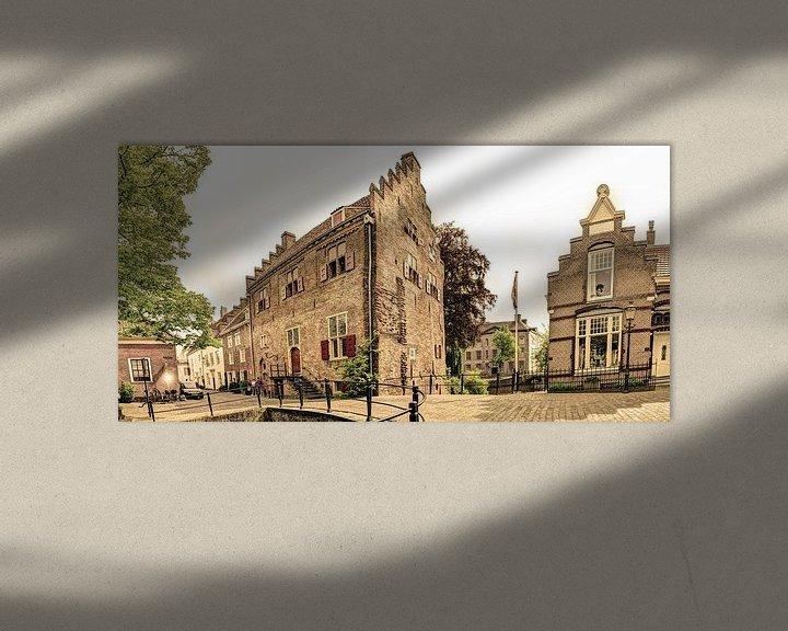 Sfeerimpressie: Amersfoort Utrecht Nederland Oud van Hendrik-Jan Kornelis