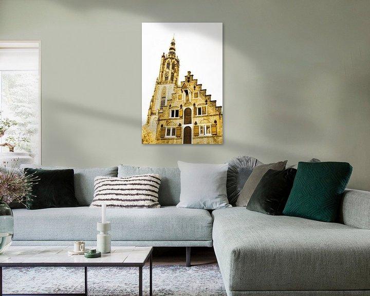 Sfeerimpressie: Amersfoort Utrecht Nederland Goud van Hendrik-Jan Kornelis