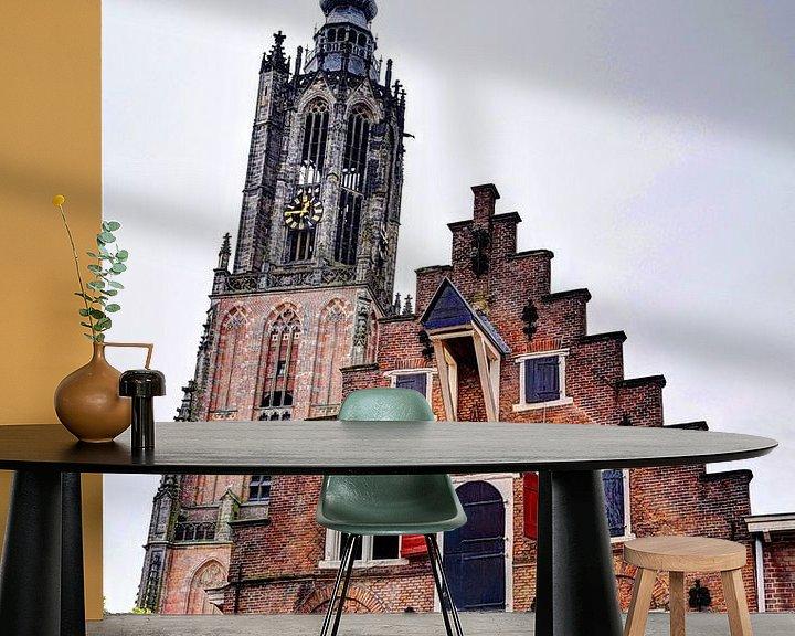 Sfeerimpressie behang: Amersfoort Utrecht Nederland van Hendrik-Jan Kornelis