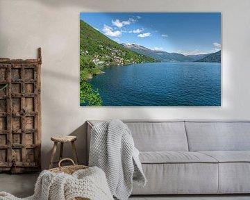 Blick über den Lago Maggiore von Peter Eckert