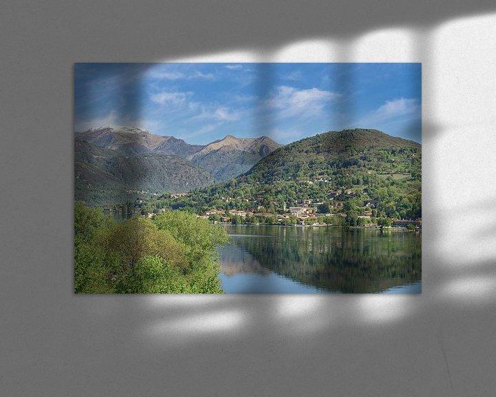 Beispiel: der Ortasee im Piemont,Italien von Peter Eckert