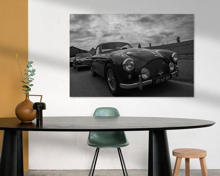 Sfeerimpressie: Aston Martin  DB 2-4 van Ton Tolboom