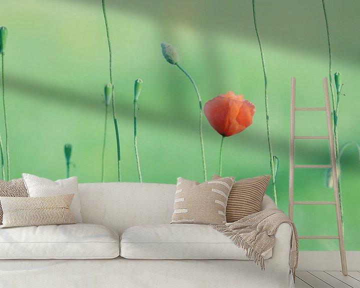 Sfeerimpressie behang: Sereniteit van Robbie Veldwijk