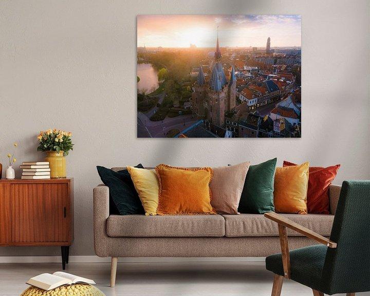 Sfeerimpressie: Sassenpoort Zwolle van Thomas Bartelds