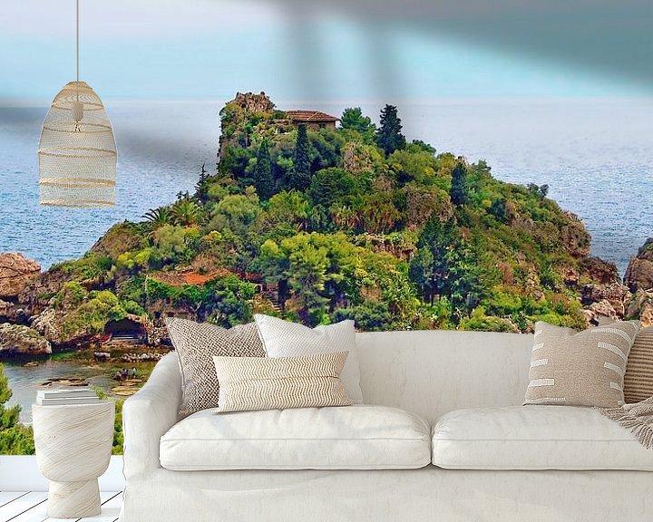 Sfeerimpressie behang: Isola bella van Leopold Brix