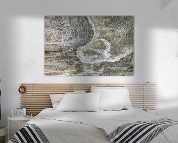 Minimalismus Kunst Fotografie Betonwand von Hendrik-Jan Kornelis
