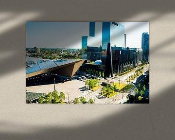 Centraal station Rotterdam overview van Truckpowerr