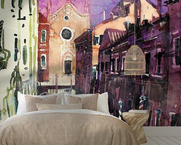 Impression: Venise, Rio Brazzo sur Johann Pickl