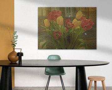 Malerische Schönheit Blumenkunst