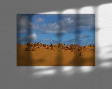 """""""Pinnacles"""" im Nambung-Nationalpark,Westaustralien von Ines Porada"""