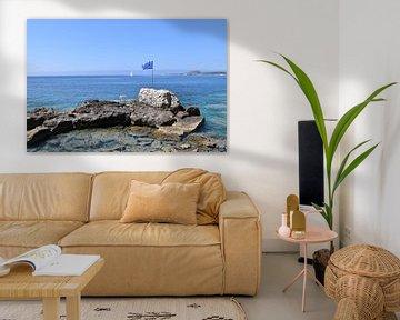 Privé-tafel aan de Griekse zee van Ingrid Bargeman