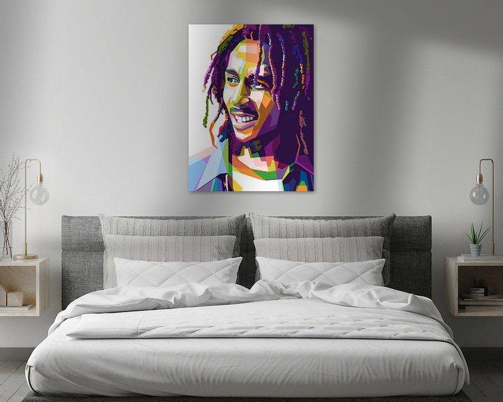 Beispiel: Bob Marley von zQheert