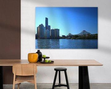 Story Brücke in Brisbane, Australien von Ines Porada