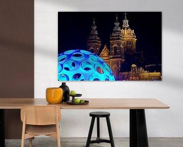 Flye's Eye Dome voor de St. Nicolaaskerk von Remco Swiers