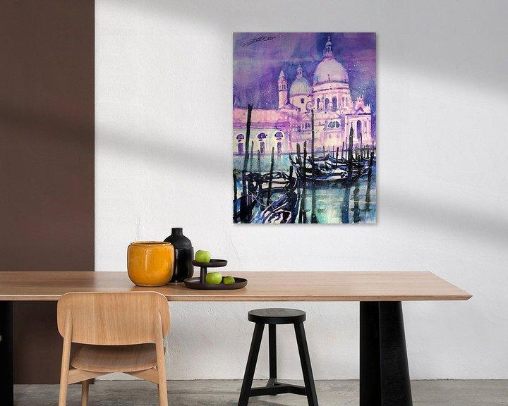 Impression: Venise, Santa Maria della Salute sur Johann Pickl