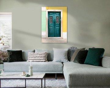 De groene deur van Faro van Stefanie de Boer