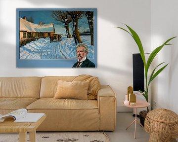 Peder Mork Monsted Schilderij van Paul Meijering
