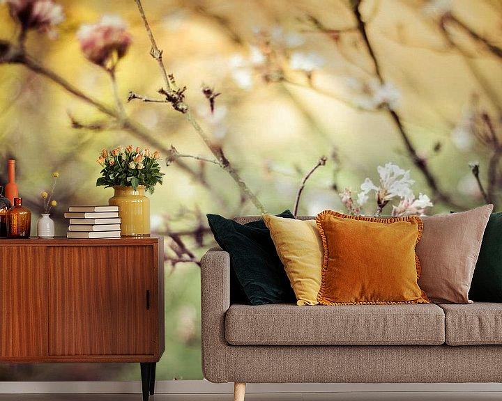 Sfeerimpressie behang: Carpe Diem Flowers van Hylke Greidanus