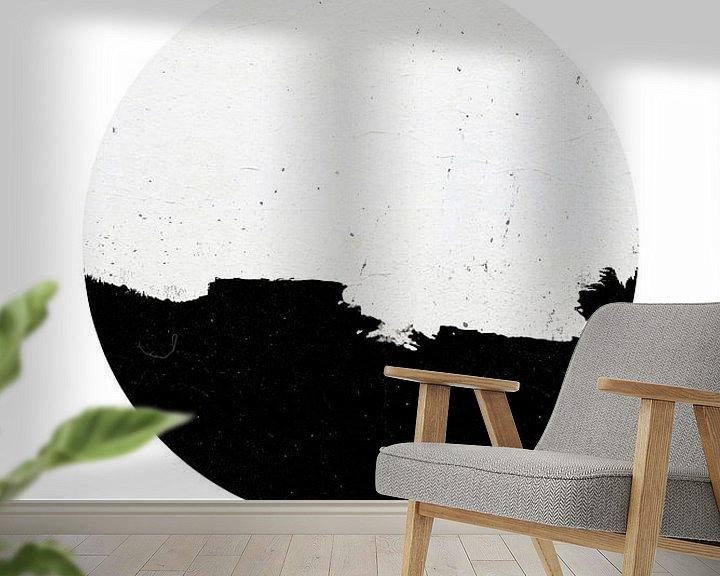 Beispiel fototapete: Minimaler Kreis von MDRN HOME