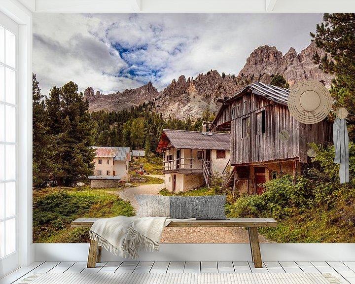 Beispiel fototapete: Rosengarten-Massiv von Rob Boon