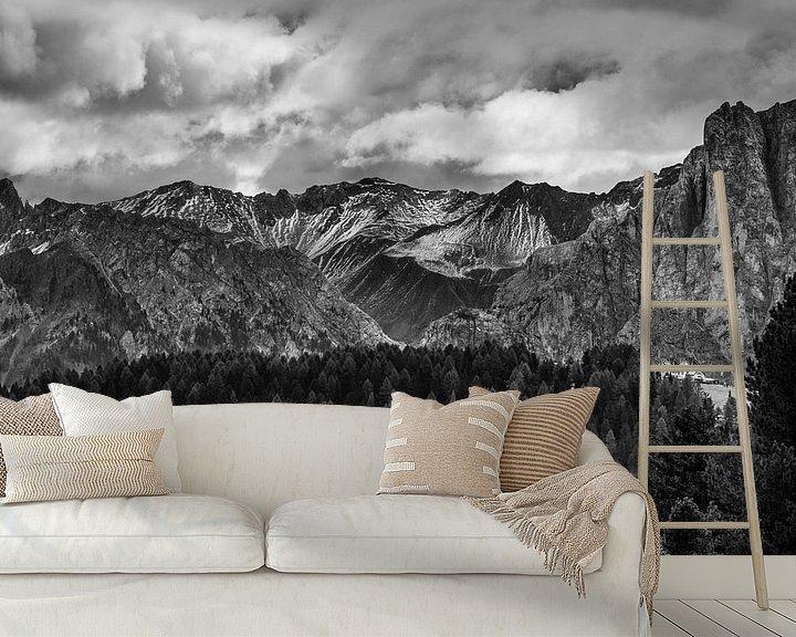 Beispiel fototapete: Dolomiten von Rob Boon