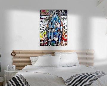Hommage à Hundertwasser (1) sur zam art