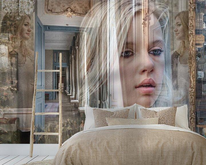 Sfeerimpressie behang: In between mood van Hannie Kassenaar