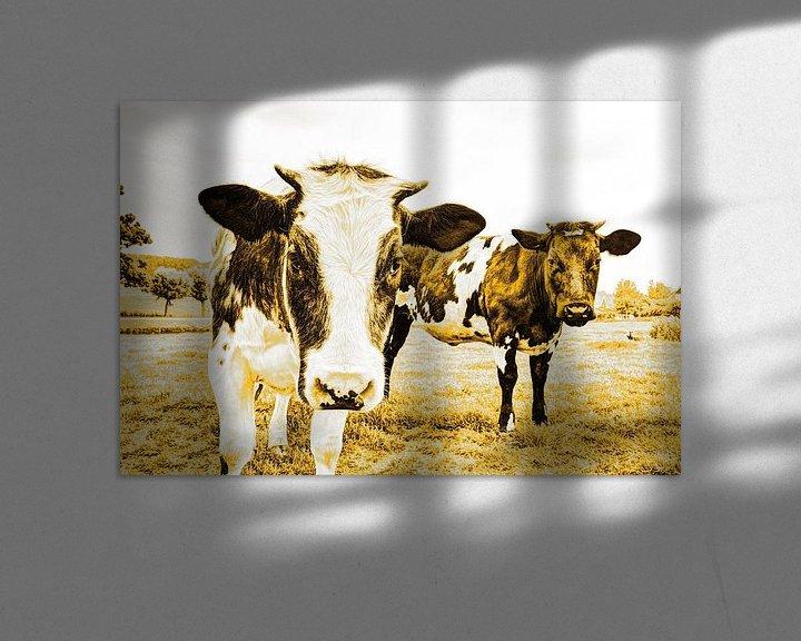 Sfeerimpressie: Koeien in Weiland Goud van Hendrik-Jan Kornelis
