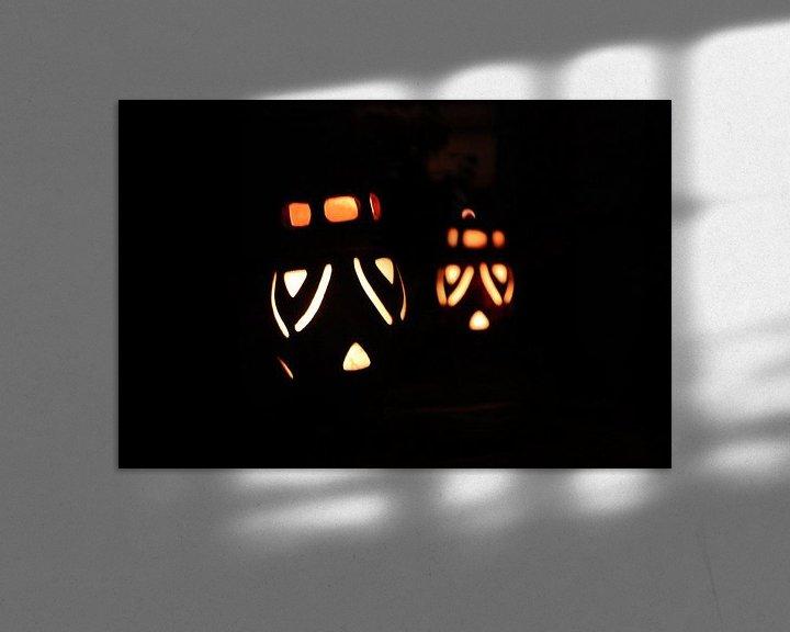 Sfeerimpressie: Gezichtjes in het donker van Menno Heijboer
