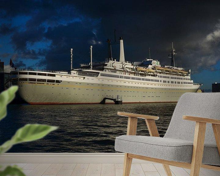 Sfeerimpressie behang: SS Rotterdam van Jaco Verheul