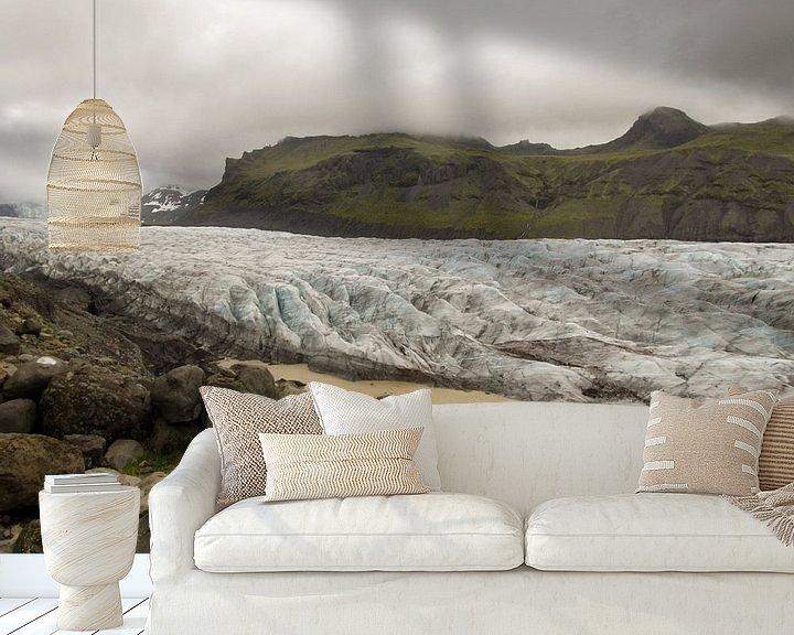 Impression: Svinafellsjokull glacier sur Louise Poortvliet