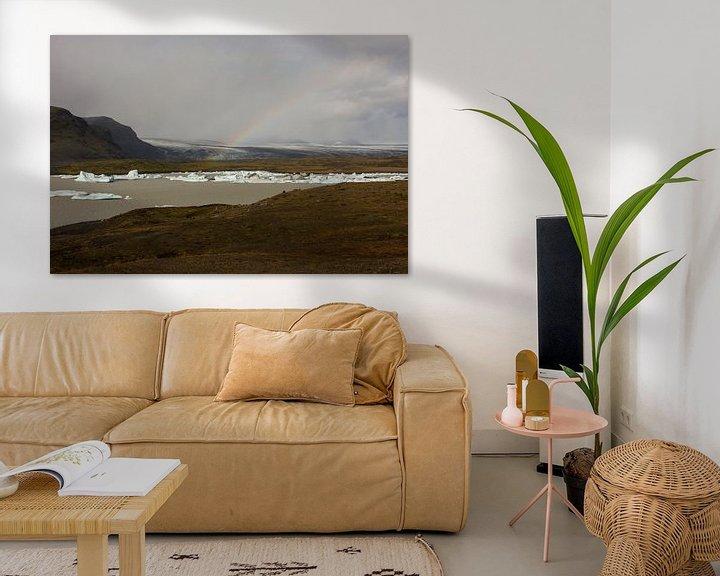Impression: Fjallsarlon glacial lake sur Louise Poortvliet