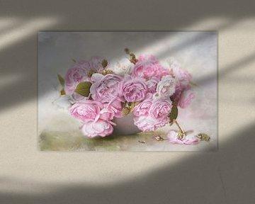 Roses Art #1 van Lizzy Pe