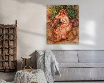 Weibliche Träumerin, Renoir (1913)