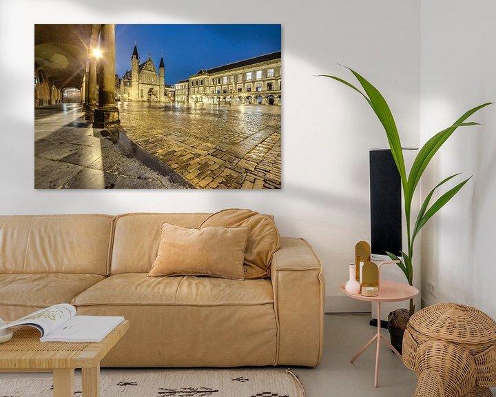 Sfeerimpressie: Binnenhof, Den Haag van Tom Roeleveld