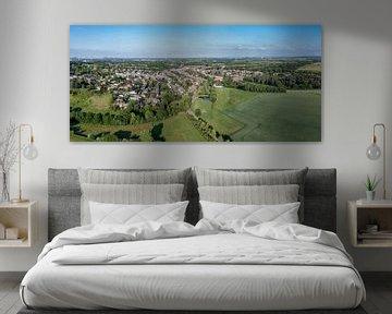 Lucht panorama van Simpelveld in Zuid-Limburg