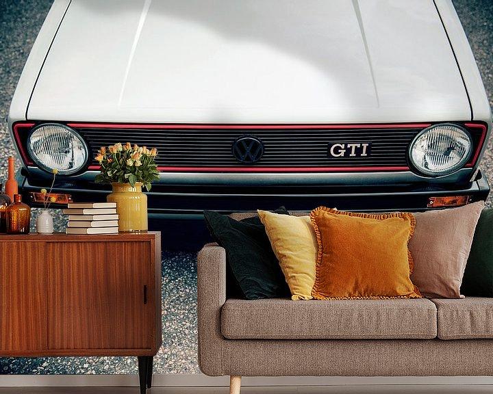 Sfeerimpressie behang: Volkswagen Golf GTi van Sytse Dijkstra