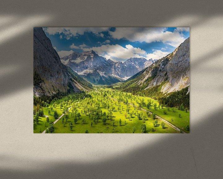 Beispiel: Sommer am Großen Ahornboden im Karwendel von Einhorn Fotografie