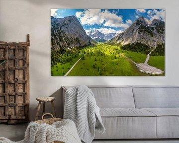 Sommer am Großen Ahornboden im Karwendel von Einhorn Fotografie
