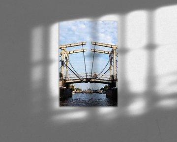 Skinny Brücke in Amsterdam von Marit Lindberg