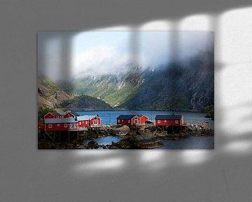 Vissersdorp Nusfjord van Marit Lindberg