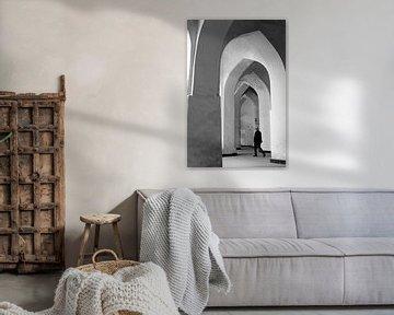 Mir i Arab Madrasa in Buchara von Marit Lindberg