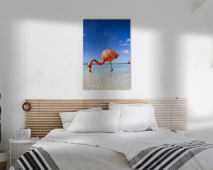 Beispiel: Flamingo von Marit Lindberg
